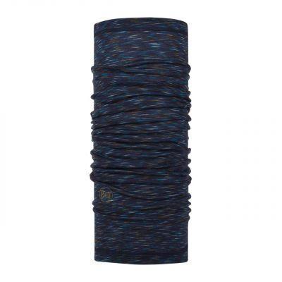 Merino wool Buff Lightweight- Denim multi stripes