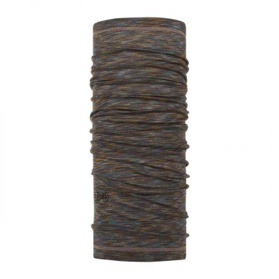 Merino wool Buff Lightweight- Fosil multi stripes
