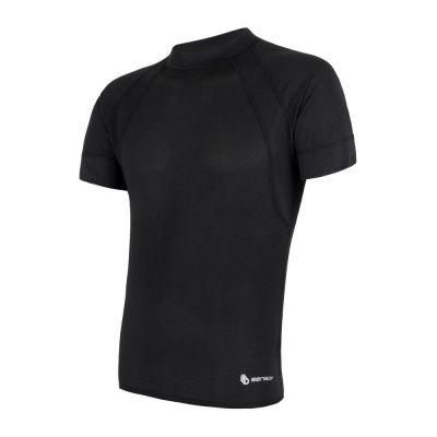 Coolmax Air pánske tričko krátky rukáv - čierna