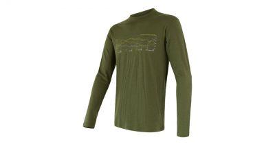 Merino Active PT Track  Pánske tričko s dlhým rukávom