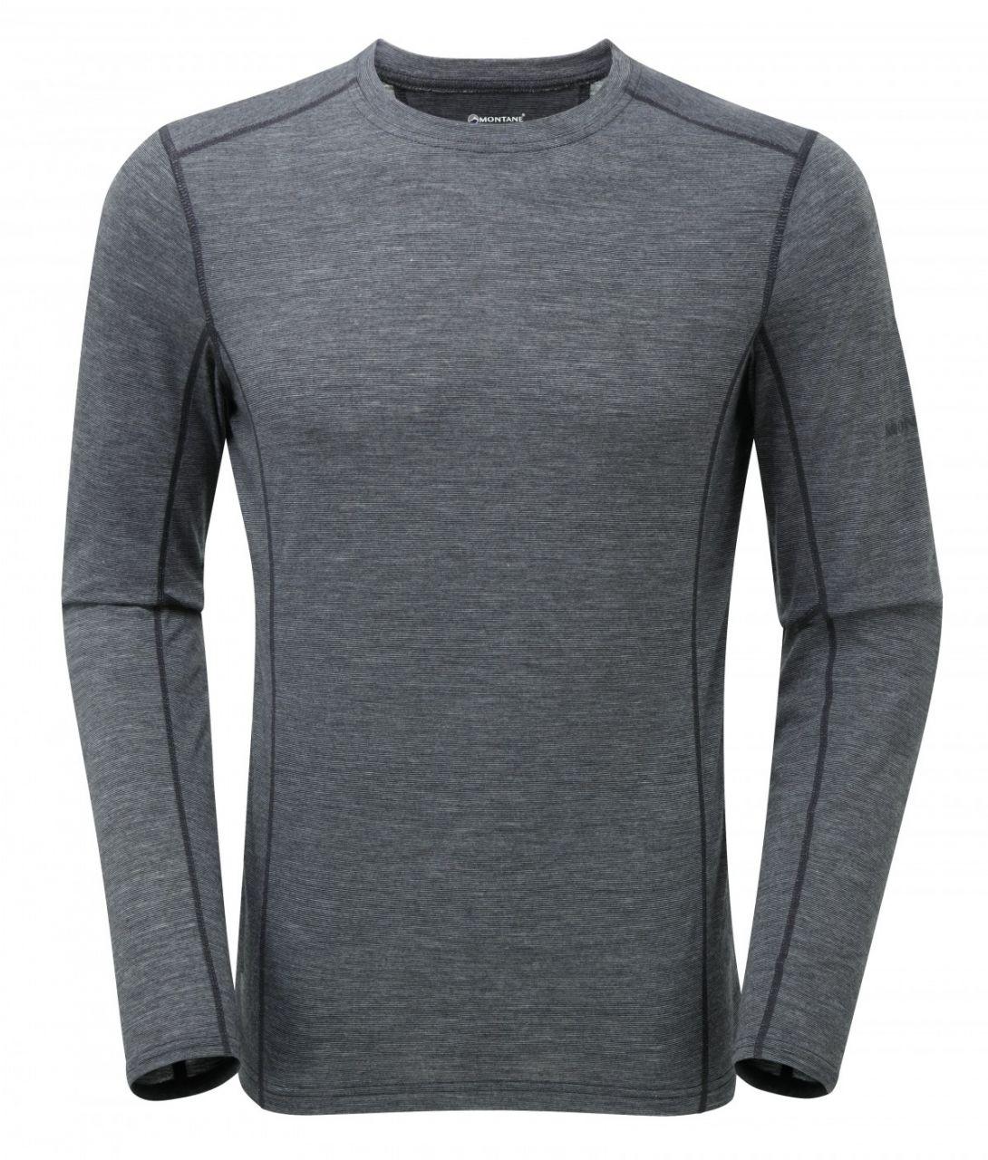 Montane Primino 140 g Long Sleeve black XL