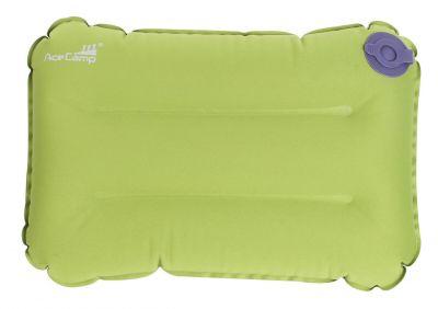 Nafukovací vankúšik - zelený