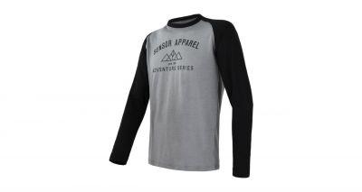 Merino Active PT ADVENTURE pánské triko s dlouhým rukávem