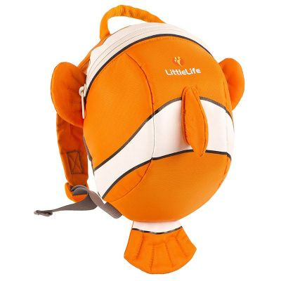 Animal Toddler Backpack - clownfish