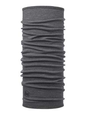 Merino wool Buff Midweight- Light grey melange