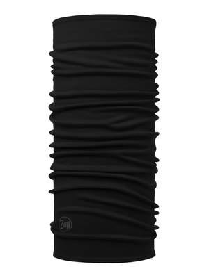 Merino wool Buff Midweight- Solid black