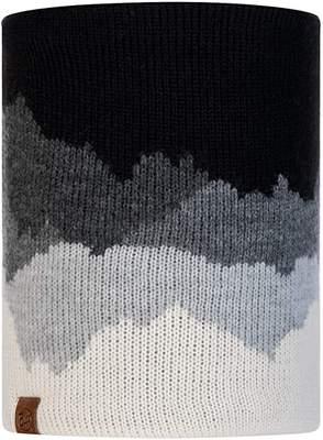 Neckwarmer Buff Knitted Polar Fleece Sveta- black