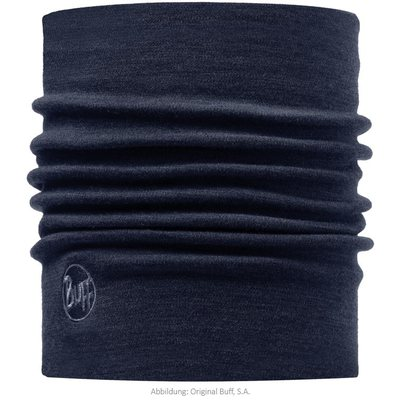 Merino wool Buff Heavyweight - Solid denim