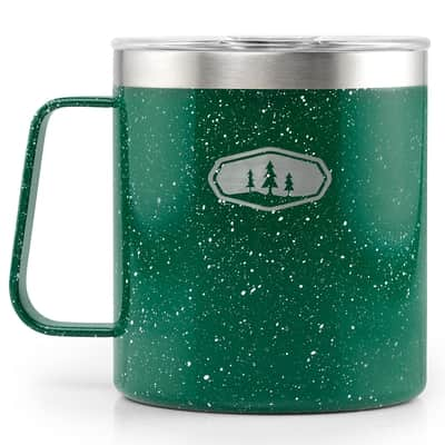 Glacier Stainless Camp Cup; 444ml green