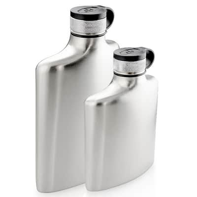 Glacier Stainless Hip Flask 177ml