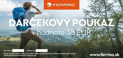 Darčekový poukaz 38 Eur