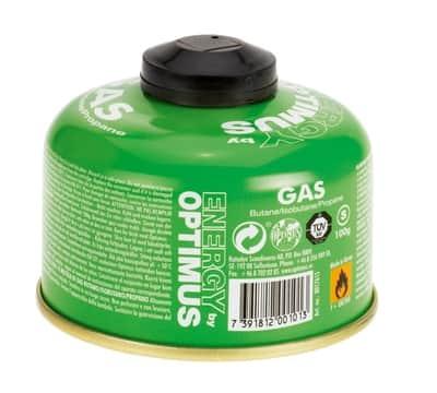 palivo do plynových  varičov Gas 100 g  Butane/Isobutane/  Propane