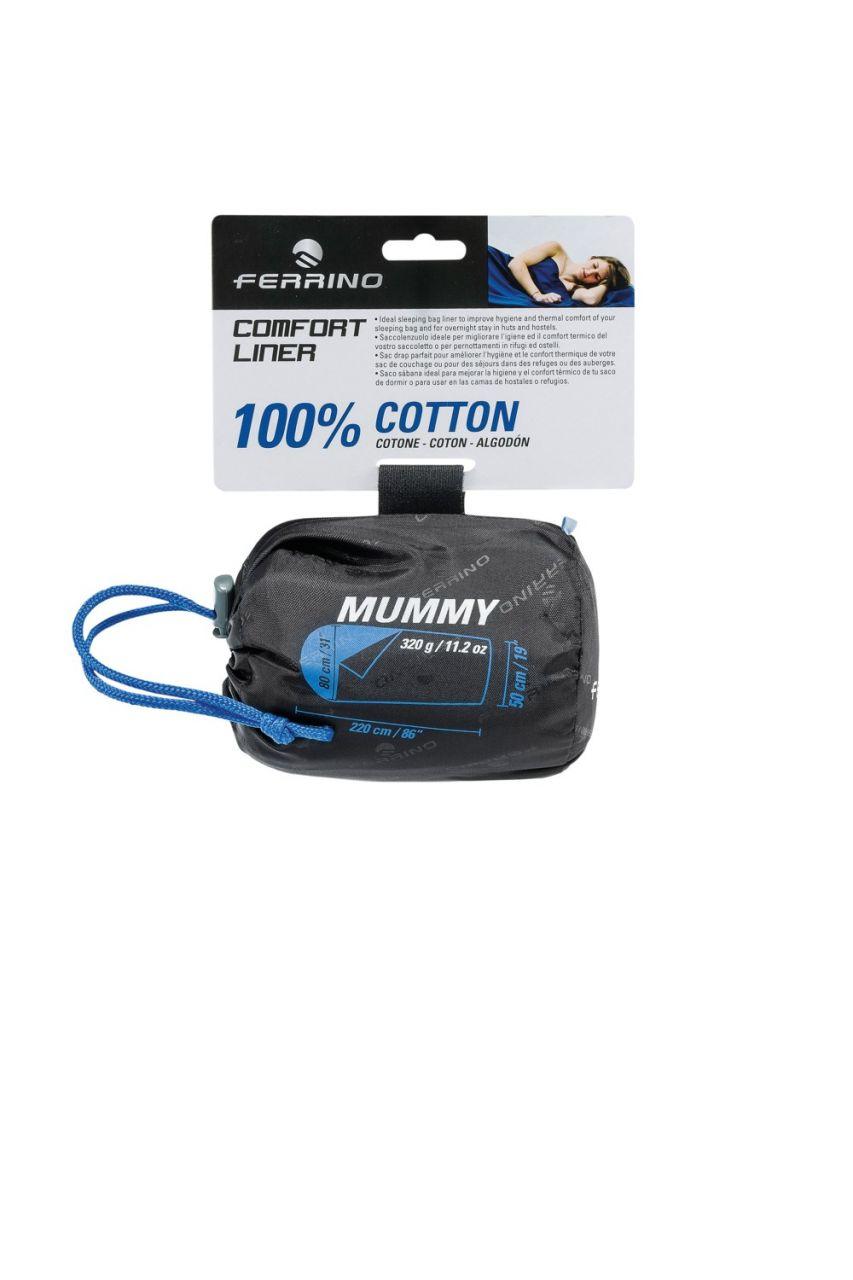 Ferrino COMFORT LINER MUMMY blue