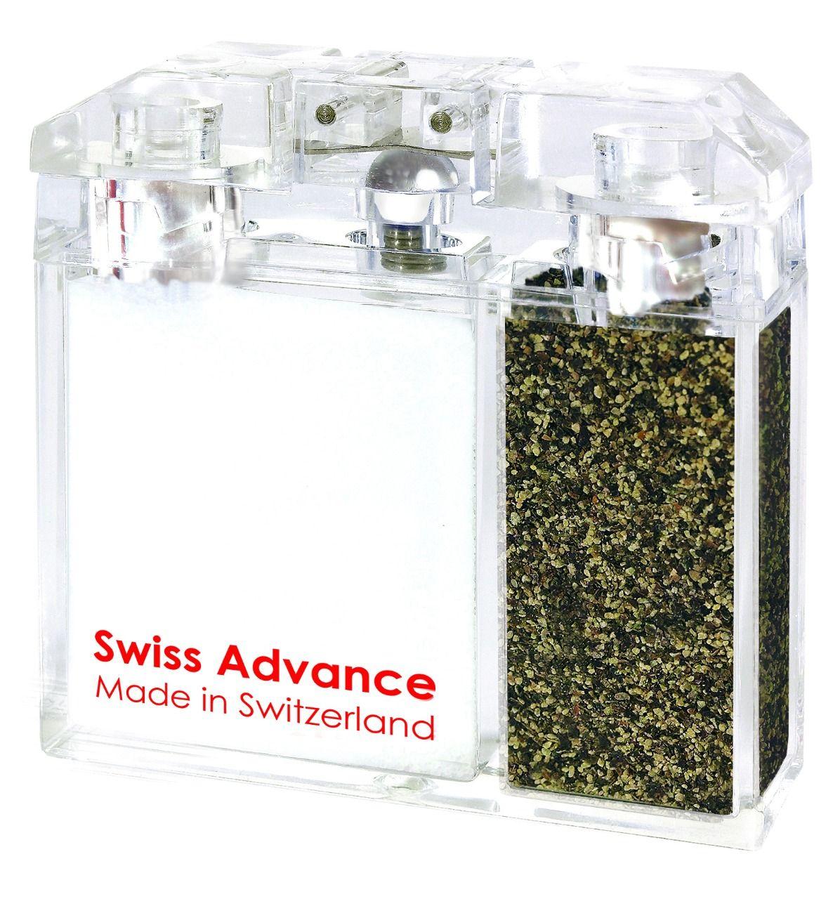 Swiss Advance Dvouoddílová kořenka (vlhkuvzdorná) alpská sůl & černý pepř